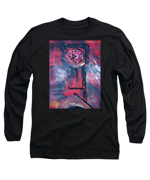 Clock Tower By Colleen Ranney Long Sleeve T-Shirt