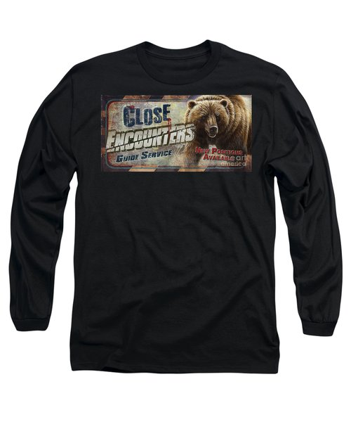 Close Encounters Bear Long Sleeve T-Shirt