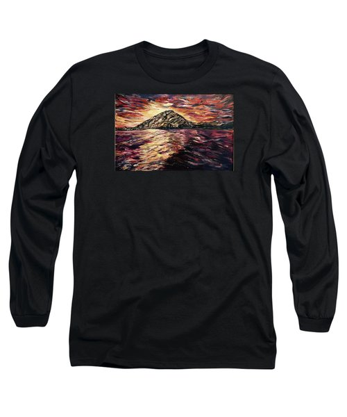 Long Sleeve T-Shirt featuring the painting Close To You II  by Belinda Low