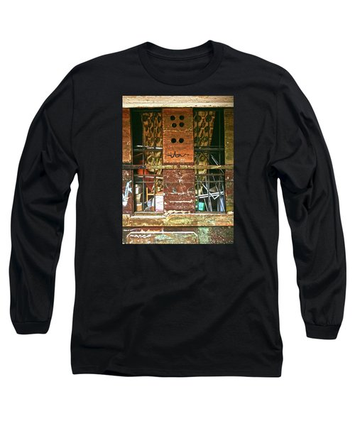 Long Sleeve T-Shirt featuring the photograph Closed Up by Anne Kotan