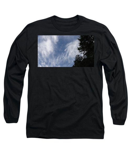 Cloud Fingers Long Sleeve T-Shirt by Don Koester