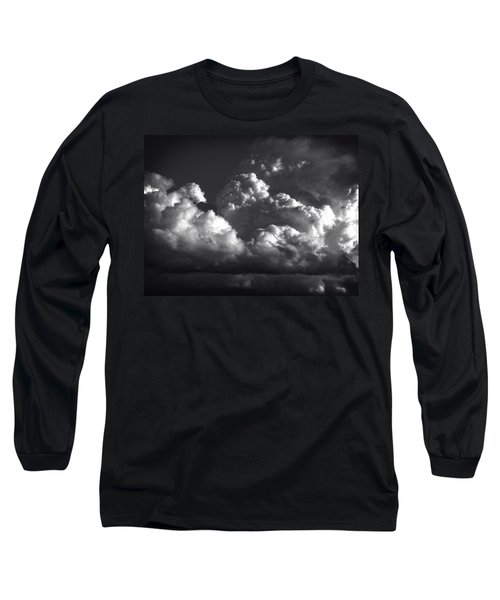 Long Sleeve T-Shirt featuring the photograph Cloud Power Over The Lake by John Norman Stewart