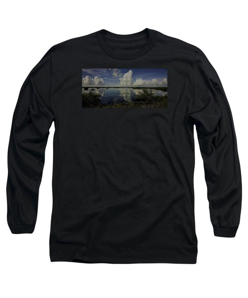 Clouds And Reflections Long Sleeve T-Shirt
