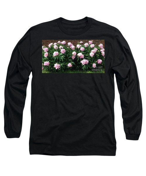Clouds Of Peony Long Sleeve T-Shirt