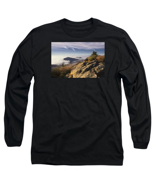 Clouds Over Grandmother Mountain Long Sleeve T-Shirt