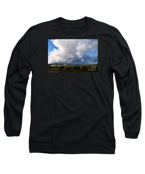 Clouds Over Napa County Long Sleeve T-Shirt
