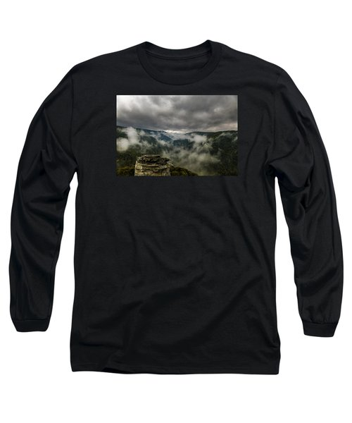 Clouds Rising At Lindy Point Long Sleeve T-Shirt