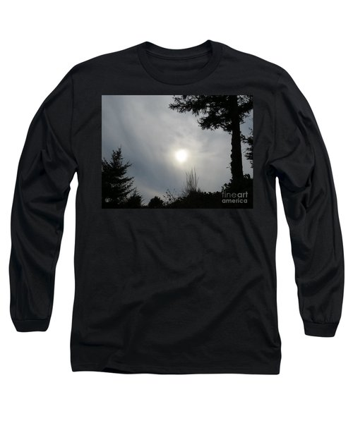 Cloudy Sun Long Sleeve T-Shirt by Michele Penner