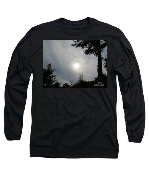 Cloudy Sun Long Sleeve T-Shirt