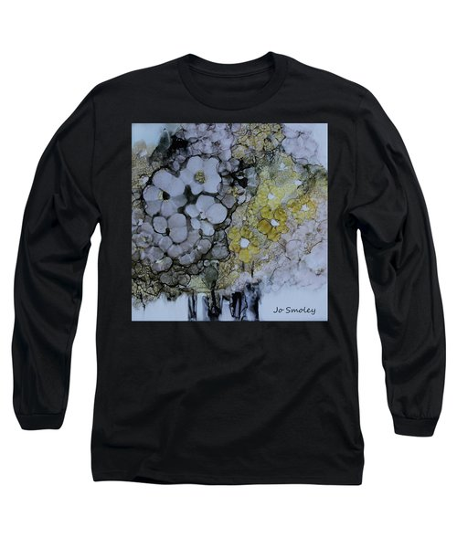 Long Sleeve T-Shirt featuring the painting Cloudy With A Chance Of Sunshine by Joanne Smoley