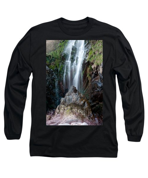 Clovelly Waterfall Long Sleeve T-Shirt