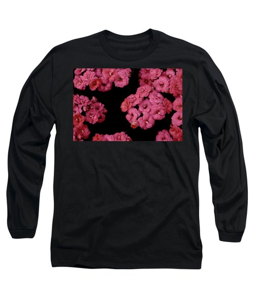 Clusters Of Pink Long Sleeve T-Shirt by Tim Good