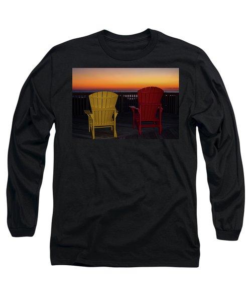Coastal Mornings Long Sleeve T-Shirt