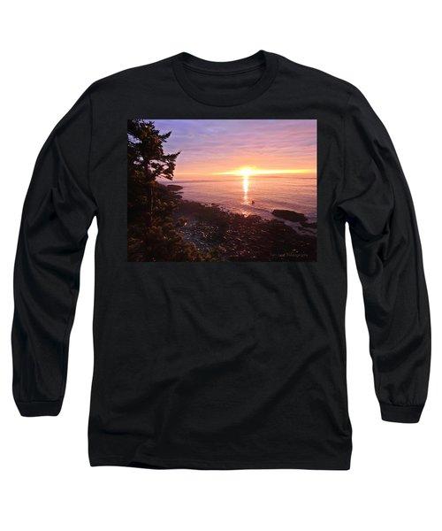 Coastal Sunrise Long Sleeve T-Shirt