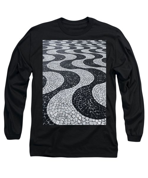 Cobblestone Waves Long Sleeve T-Shirt