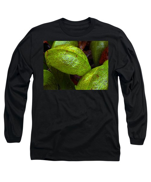 Long Sleeve T-Shirt featuring the photograph Cobra Lily Love by Suzy Piatt