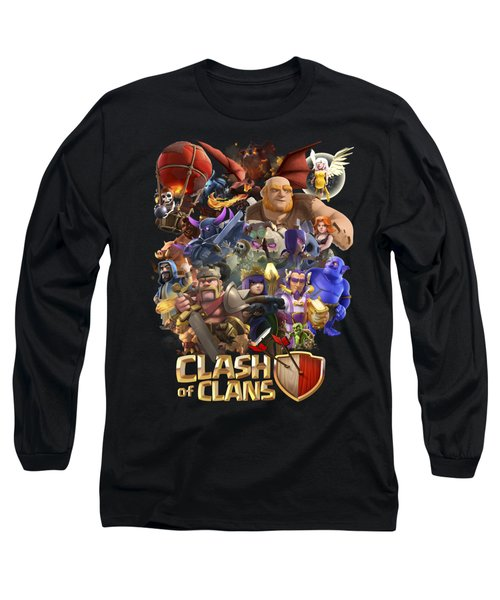 Coc Troops Long Sleeve T-Shirt