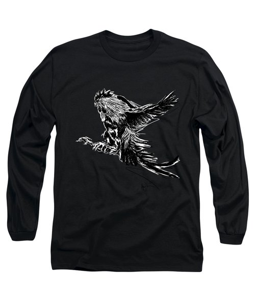 Cock Bw II Transparant Long Sleeve T-Shirt