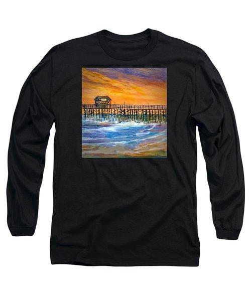 Cocoa Beach Pier Long Sleeve T-Shirt