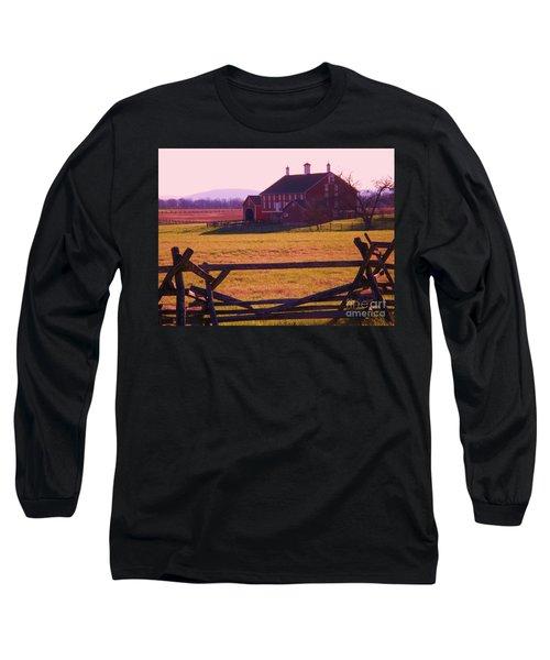 Codori Barn Gettysburg Long Sleeve T-Shirt