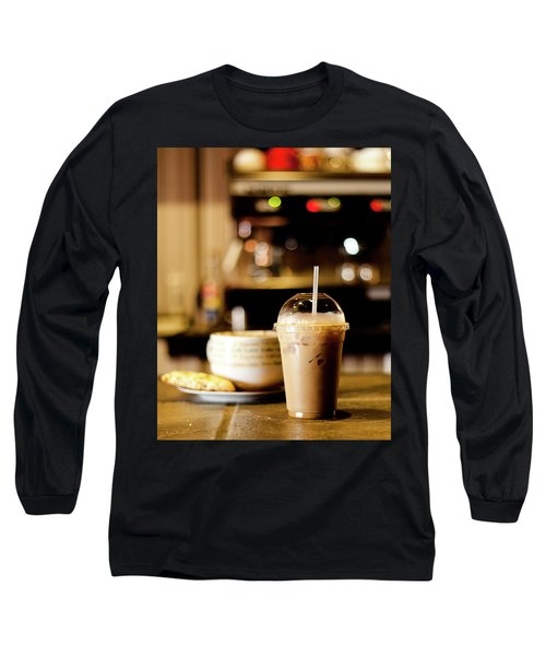 Coffee Bar Atmosphere Long Sleeve T-Shirt