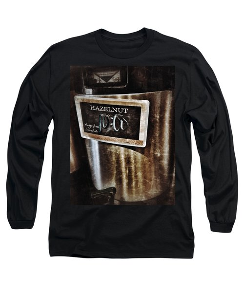 Coffee Time Long Sleeve T-Shirt by Mark David Gerson