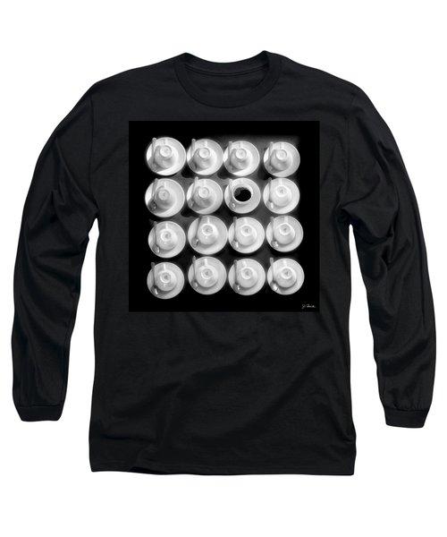 Coffee Time No. 3 Long Sleeve T-Shirt by Joe Bonita