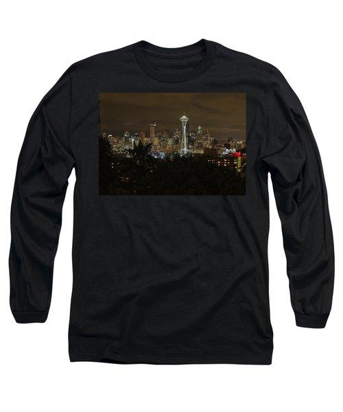 Coffee Town Long Sleeve T-Shirt