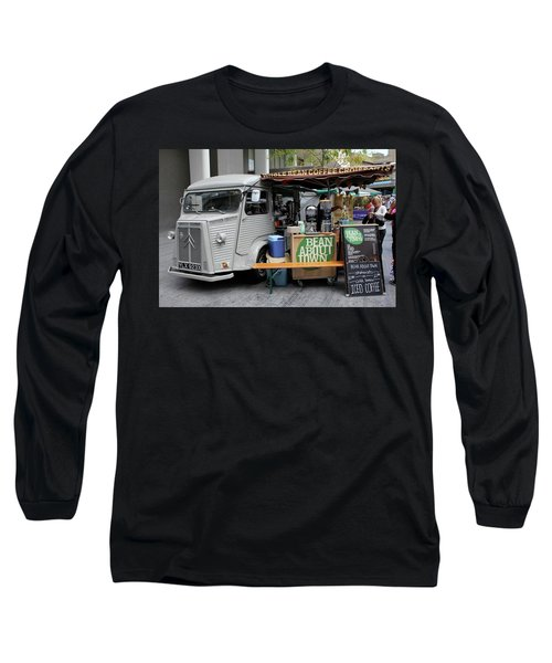 Coffee Truck Long Sleeve T-Shirt by Christin Brodie