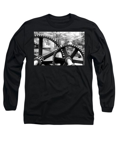 Cogs Long Sleeve T-Shirt by Greg Fortier
