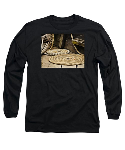 Coiled Rope From Philadelphia II Gunboat Long Sleeve T-Shirt