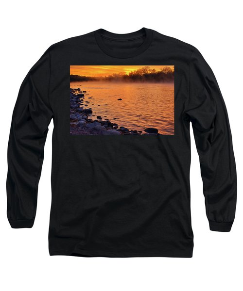 Cold November Morning Long Sleeve T-Shirt