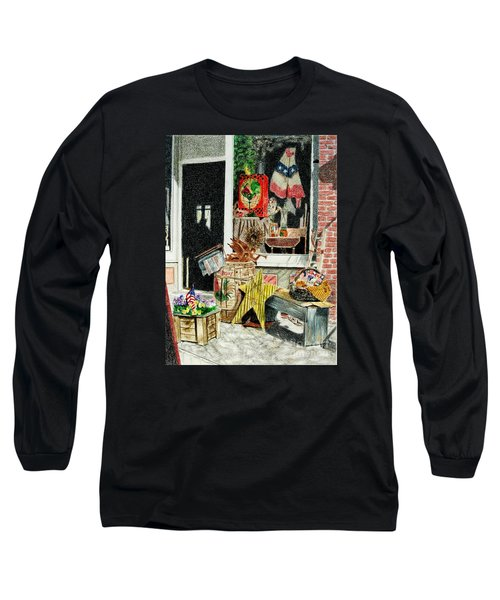 Cold Spring Window Right Long Sleeve T-Shirt