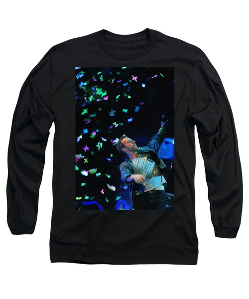 Coldplay1 Long Sleeve T-Shirt by Rafa Rivas
