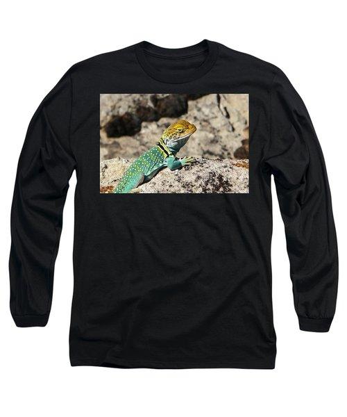 Collared Lizard Long Sleeve T-Shirt