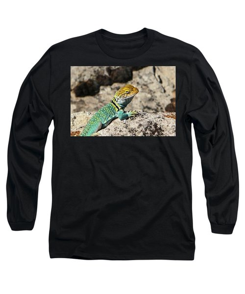 Collared Lizard Long Sleeve T-Shirt