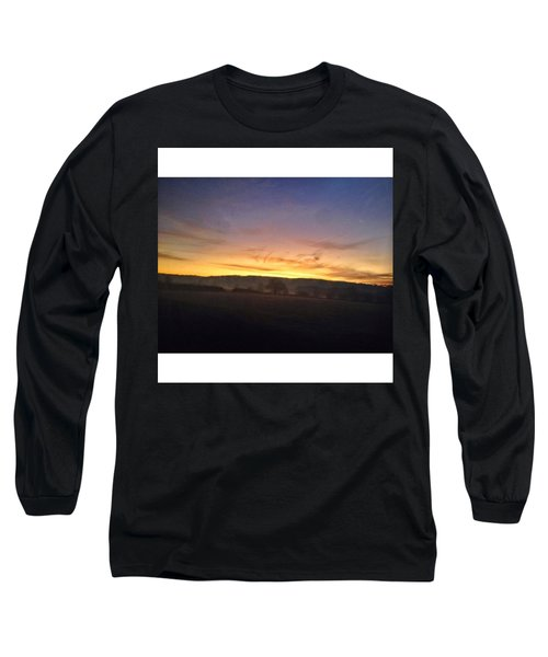 College Bus. #sunrise Long Sleeve T-Shirt