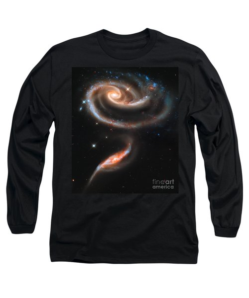 Colliding Galaxies Long Sleeve T-Shirt