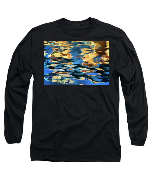 Color Abstraction Lxix Long Sleeve T-Shirt
