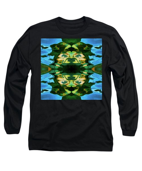 Color Abstraction Lxv Long Sleeve T-Shirt by David Gordon