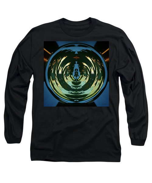 Color Abstraction Lxx Long Sleeve T-Shirt by David Gordon