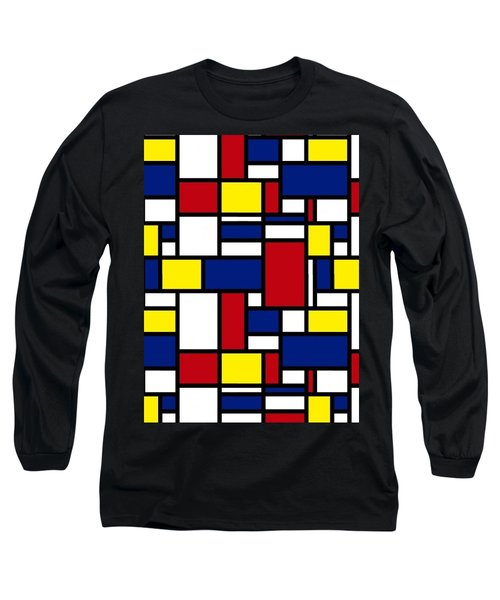 Color Box Long Sleeve T-Shirt by Now