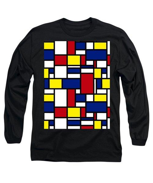 Color Box Long Sleeve T-Shirt