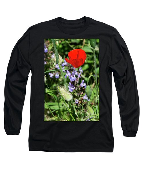 Long Sleeve T-Shirt featuring the photograph Color Mix 05 by Arik Baltinester