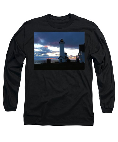 Color Of December, Tibbetts Point Lighthouse Long Sleeve T-Shirt