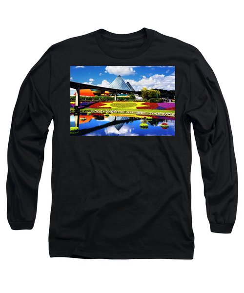 Long Sleeve T-Shirt featuring the photograph Color Of Imagination by Greg Fortier