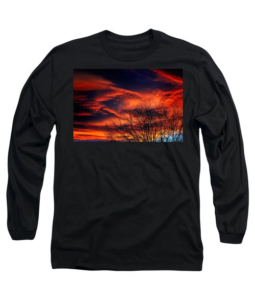 Colorado Fire In The Sky Long Sleeve T-Shirt