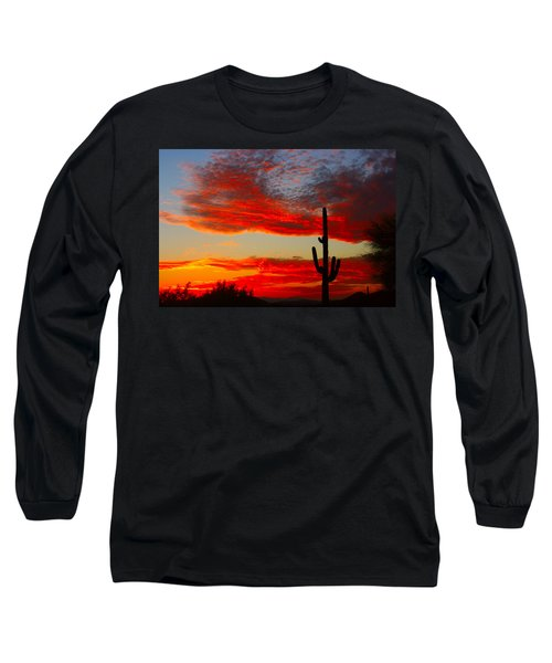 Colorful Arizona Sunset Long Sleeve T-Shirt