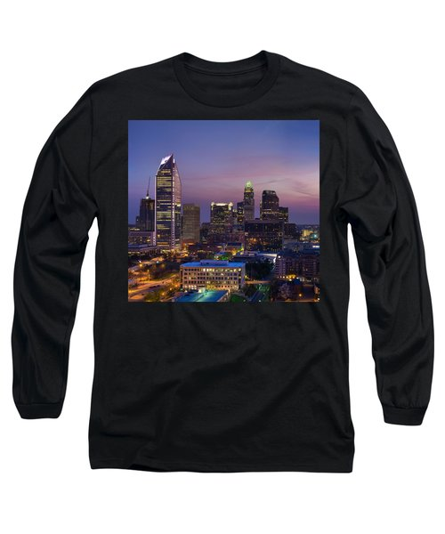 Colorful Charlotte Long Sleeve T-Shirt by Serge Skiba