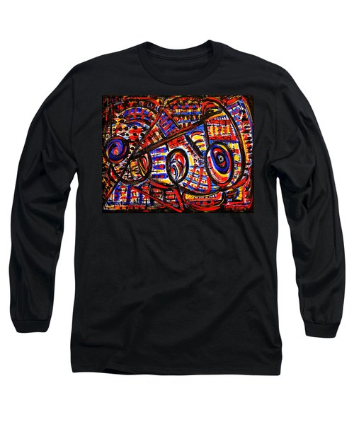 Colorful Expression 18 Long Sleeve T-Shirt by Natalie Holland